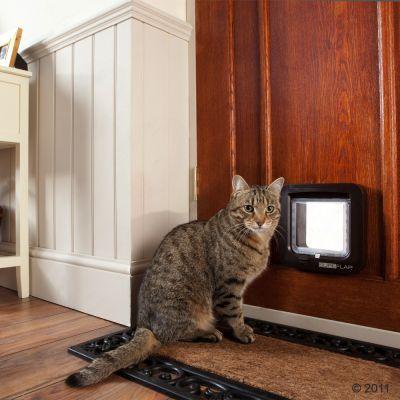 Kočičí dvířka SureFlap s mikročipem (Š 14 x V  12 cm)