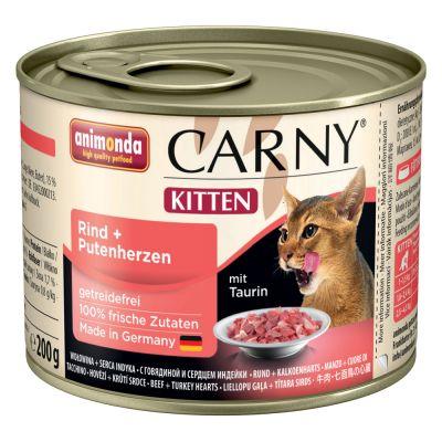 Korzystny pakiet Animonda Carny Kitten, 12 x 200 g