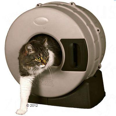 Litter Spinner Katzentoilette