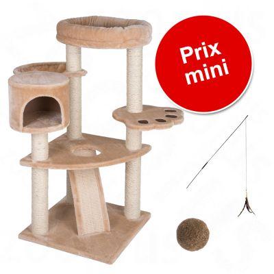 lot arbre chat canne p che et balle pour chat zooplus. Black Bedroom Furniture Sets. Home Design Ideas
