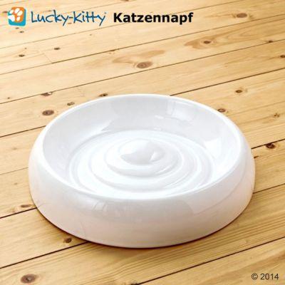 Lucky-Kitty Katzennapf aus Keramik
