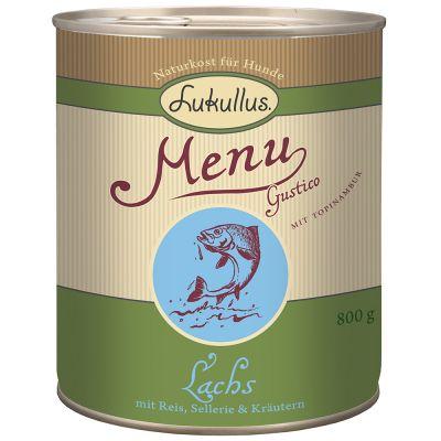 Lukullus Menu Gustico Salmon with Rice, Celery & Herbs