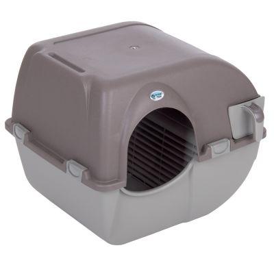 maison de toilette auto nettoyante pour chat roll 39 n clean. Black Bedroom Furniture Sets. Home Design Ideas