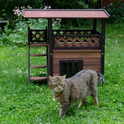 Maisonette Căsuță pentru pisici