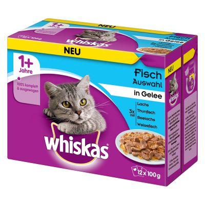 Megapakiet Whiskas 1 + saszetki, 48 x 100 g