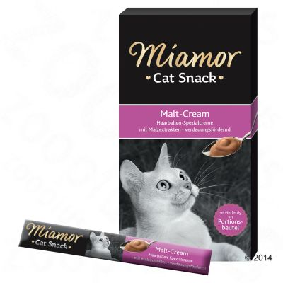 Miamor Cat Snack pasta ze słodem