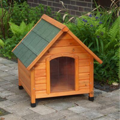 spike confort avec porte en plastique niche pour chien zooplus. Black Bedroom Furniture Sets. Home Design Ideas