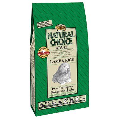 Nutro Natural Choice Adult Cordero y arroz