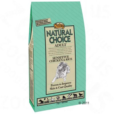 Nutro Natural Choice Adult Sensitive Pollo y arroz