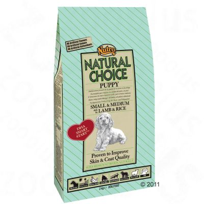 Nutro Natural Choice Puppy Cordero y arroz