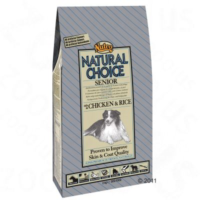 Nutro Natural Choice Senior Pollo y arroz