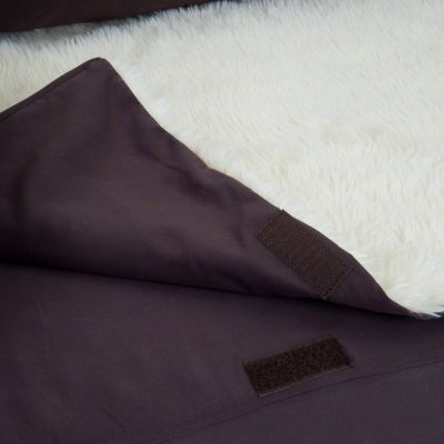 Orthopaedic Dog Bed - Brown / Beige