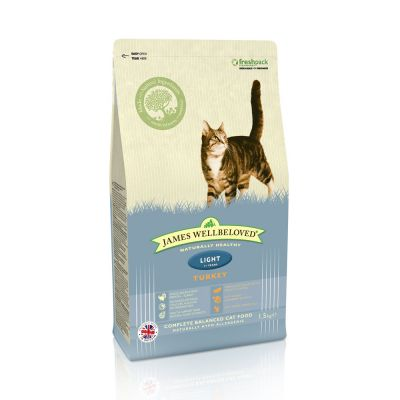 Pack mixto James Wellbeloved Adult Light para gatos