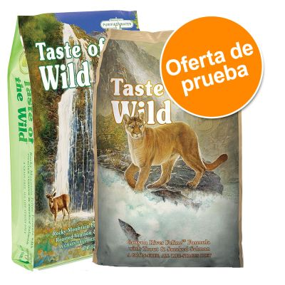 Pack mixto Taste of the Wild para gatos