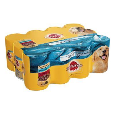 Pack Pedigree en gelatina con aceite de pescado