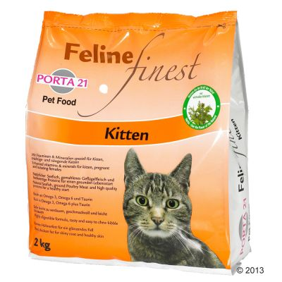 Porta 21 Feline Finest Kitten pour chaton
