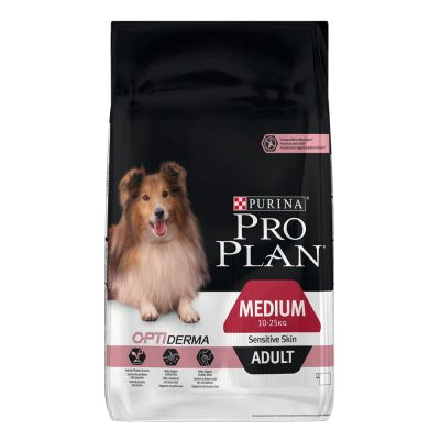 PRO PLAN Medium Adult Sensitive Skin OPTIDERMA pour chien