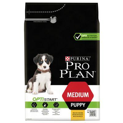 pro plan medium puppy optistart g nstig bei zooplus. Black Bedroom Furniture Sets. Home Design Ideas