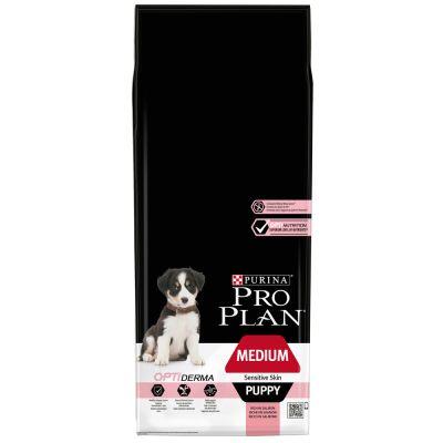 pro plan medium puppy sensitive skin optiderma g nstig bei. Black Bedroom Furniture Sets. Home Design Ideas