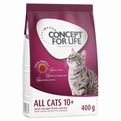 Probierpaket: 400 g Concept for Life + 6 x 70 g Cosma Nature