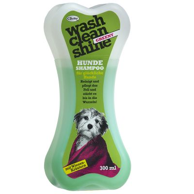 Quiko Wash Clean Shine Greeny champú para perros