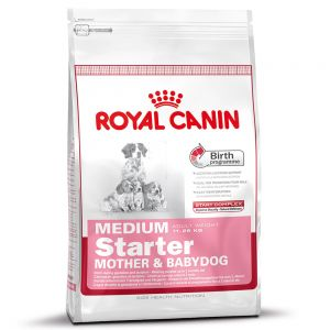royal canin size zu discountpreisen bei royal canin medium starter mother babydog. Black Bedroom Furniture Sets. Home Design Ideas