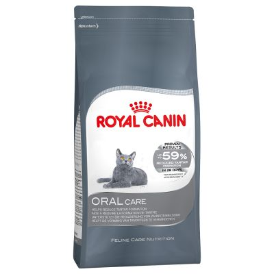 royal canin oral care free p p on orders 29 at zooplus. Black Bedroom Furniture Sets. Home Design Ideas