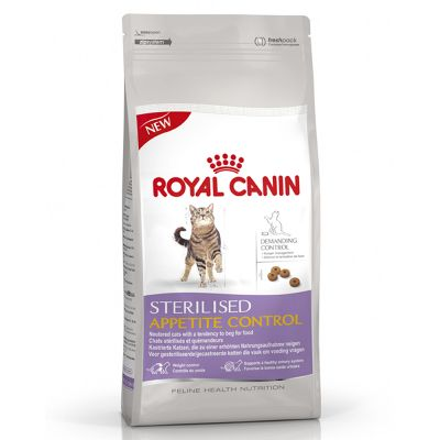 royal canin sterilised appetite control pour chat zooplus. Black Bedroom Furniture Sets. Home Design Ideas