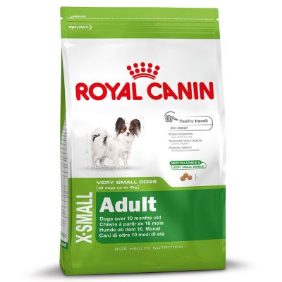 royal canin x small adult free p p 29 at zooplus. Black Bedroom Furniture Sets. Home Design Ideas