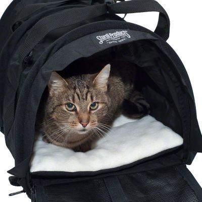 Sac de transport SturdiBag Black pour chat et petit chien