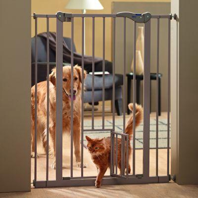 Savic Absperrgitter Dog Barrier mit Katzentür