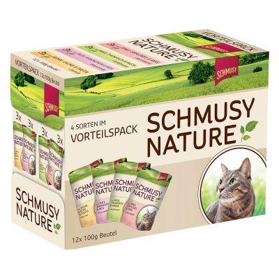 Schmusy Nature 12 x 100 g - Pack de prueba