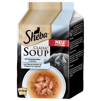 Sheba Cat Food Soup