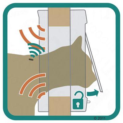 SureFlap mikrochipes ajtó háziállatoknak