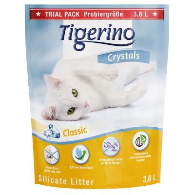 Tigerino Crystals Classic arena absorbente sin olor