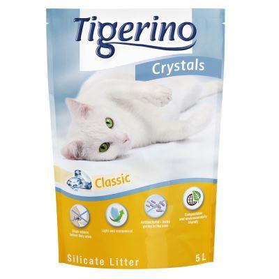 Tigerino Crystals 3 o 6 x 5 l arena en 3 variedades