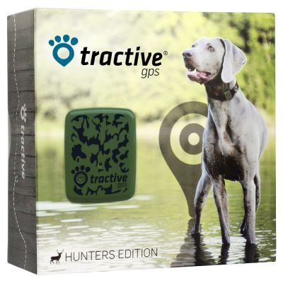 tractive gps hunters edition traceur pour chien et chat zooplus. Black Bedroom Furniture Sets. Home Design Ideas