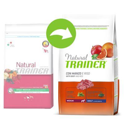 Trainer Natural Adult Medium Manzo, Riso e Ginseng
