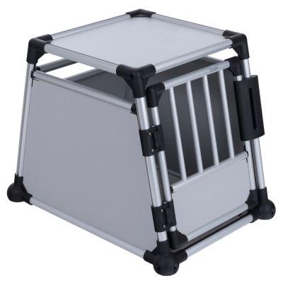 cage de transport pour chien en aluminium trixie | zooplus.be