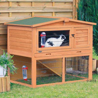 Trixie Natura 120 Modern -kaninkoppi ja -aitaus