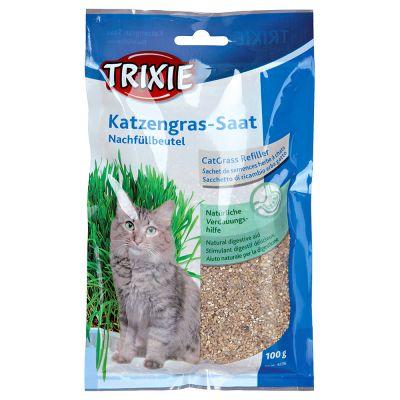 Trixie trawa dla kotów, 3 x 100g