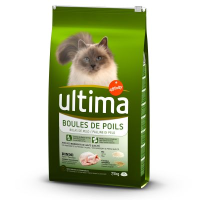 ultima contr le des boules de poils croquettes pour chat zooplus. Black Bedroom Furniture Sets. Home Design Ideas