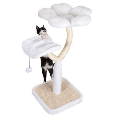 Orijen Dog Food Reviews >> White Flower Cat Tree   Free P&P £29+ at zooplus!