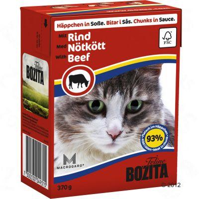 6 x 370 g Bozita Häppchen im Mixpaket