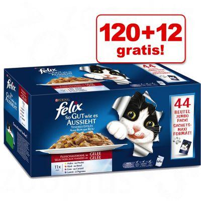 120 + 12! 132 x 100 g Felix