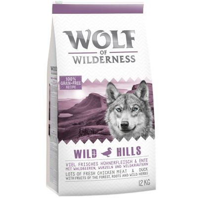 2x zooPlusPisteitä: Wolf of Wilderness 12 kg