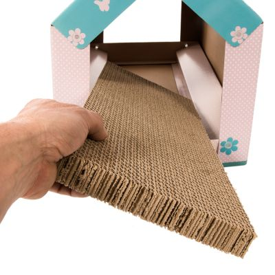 XL Cat Den with Scratching Pad