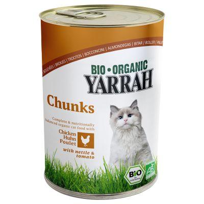 Yarrah Organic Chunks 6 x 405g
