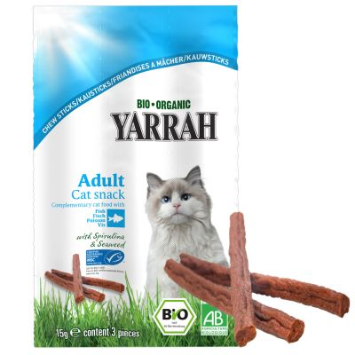 Yarrah Organic Nature's Finest Chew Sticks