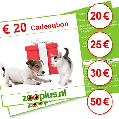 zooplus cadeaubon
